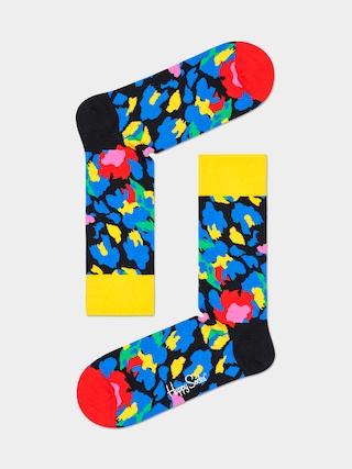 Ponou017eky Happy Socks Leopard (yellow/blue)