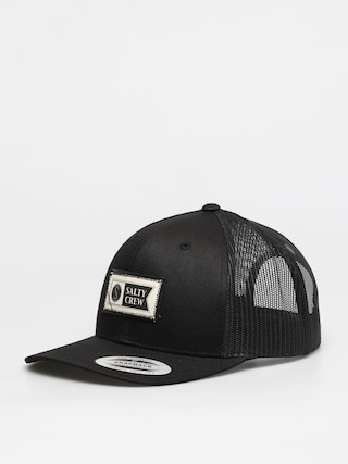u0160iltovka Salty Crew Topstitch Retro Trucker ZD (black)