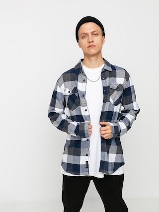 Kou0161eu013ea Vans Box Flannel (white/dress blues)