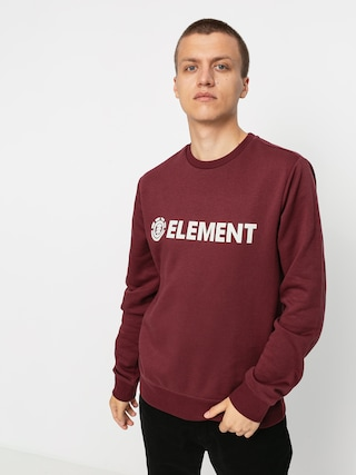 Mikina Element Blazin Crew (vintage red)