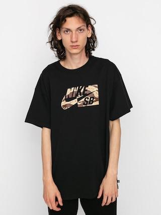 Tričko Nike SB Hbr Camo (black)