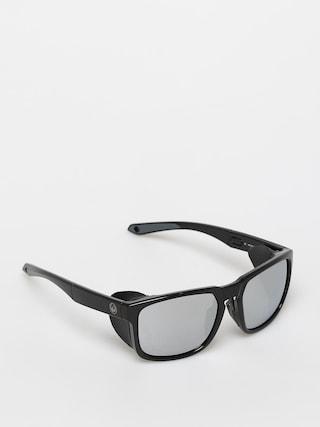 Slneu010dnu00e9 okuliare Dragon Latitude (black/ll super strong silver i)