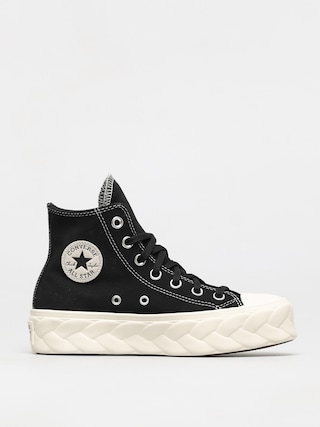 Topu00e1nky Converse Chuck Taylor All Star Lift Cable Wmn (black/egret/black)