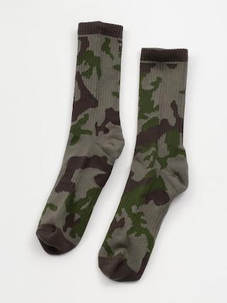 Ponou017eky Volcom Vibes Socks (army)
