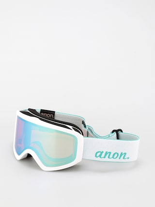 Snowboardovu00e9 okuliare Anon Insight Perceive Wmn (white/perceive variable blue)