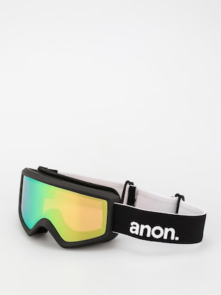 Snowboardovu00e9 okuliare Anon Helix 2.0 Perceive (black/perceive variable green)