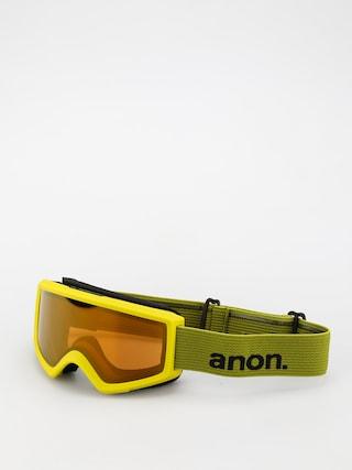 Snowboardovu00e9 okuliare Anon Helix 2.0 Perceive (green/perceive sunny bronze)