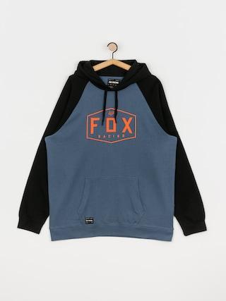 Mikina s kapucu0148ou Fox Crest HD (blu stl)