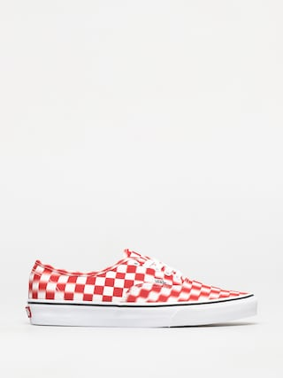 Topánky Vans Authentic (blur check/true white/red)