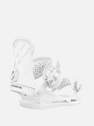 Snowboardovu00e9 viazanie Union Milan Wmn (white)
