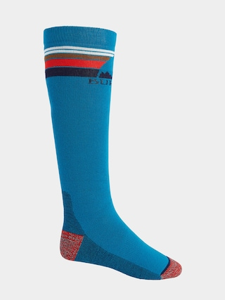 Ponožky Burton Emblem Midweight (bay blue)