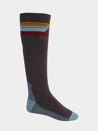 Ponožky Burton Emblem Midweight (dark slate)