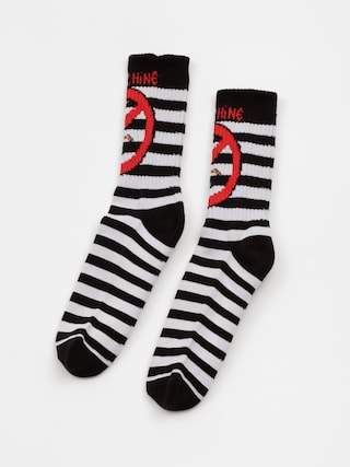 Ponožky Toy Machine No Scooter (black/white)