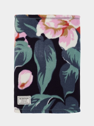u0160atka Burton Ember Fleece Neck Warmer (dark slate oversized floral)