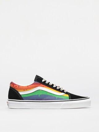 Topánky Vans Old Skool (rainbow drip/blkmlttrwht)
