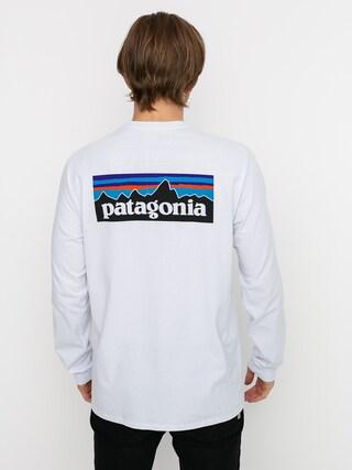 Triko Patagonia P 6 Logo Responsibili (white)