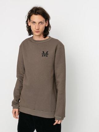 Mikina Malita Logo (brown)