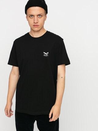 Tričko Iriedaily Chestflag (black)