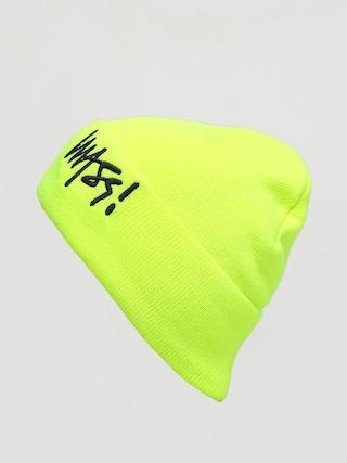 Čiapka MassDnm Signature (toxic yellow)
