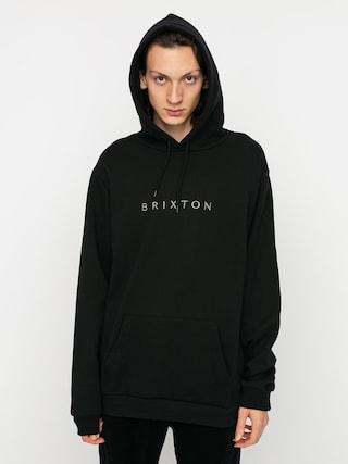 Mikina s kapucu0148ou Brixton Alpha Line HD (black)