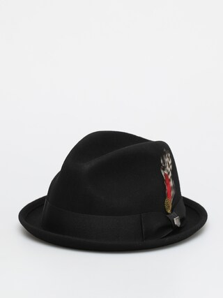 Klobúk Brixton Gain Fedora (black)