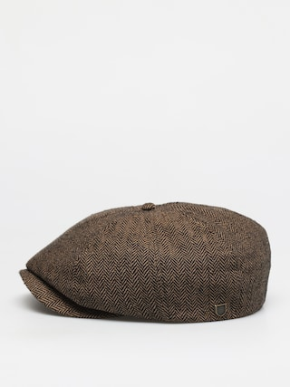 Klobu00fak so u0161iltom Brixton Brood Snap Cap (brown/khaki)