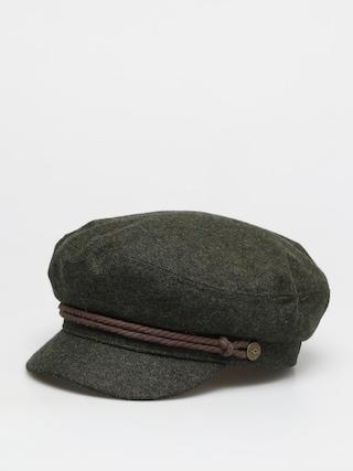 Klobúk so šiltom Brixton Fiddler Cap (moss)