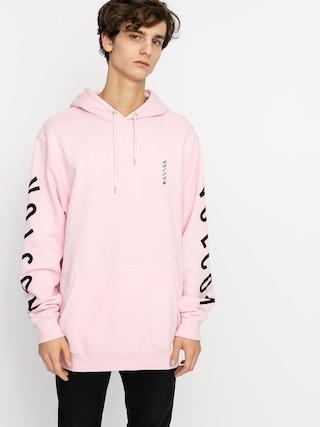 Mikina s kapucu0148ou Volcom Supply Stone HD (snow pink)
