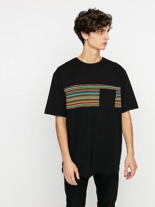 Tričko Iriedaily Chop Chop Pocket (black neon)