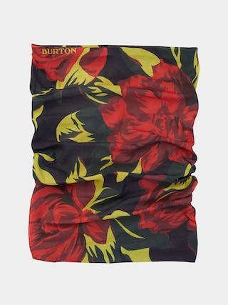 u0160atka Burton Lightweight Neck Gaiter (hibiscus pink oversized floral)