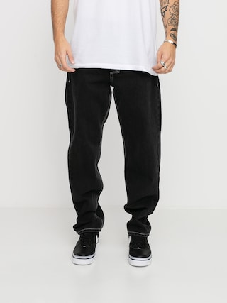 Nohavice MassDnm Craft Jeans Baggy Fit (black rinse)