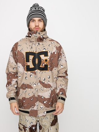Snowboardovu00e1 bunda DC Spectrum (chocolate chip camo)