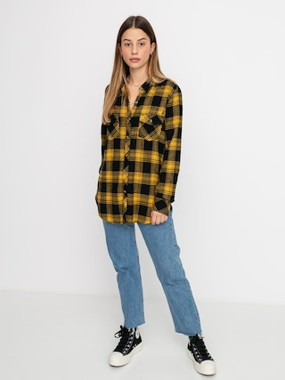 Kou0161eu013ea Volcom Getting Rad Plaid Ls Wmn (golden haze)