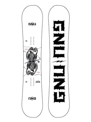 Snowboard Gnu RC C3 (white/black)