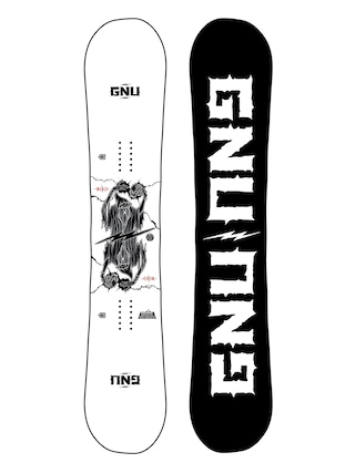 Snowboard Gnu RC C3 (black/white)