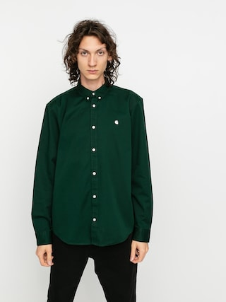 Kou0161eu013ea Carhartt WIP Madison (bottle green/wax)