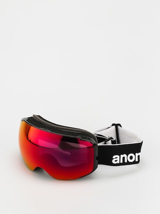 Snowboardovu00e9 okuliare Anon M2 (black/perceive sunny red)
