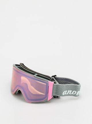 Snowboardovu00e9 okuliare Anon Sync Wmn (gray pop/perceive cloudy pink)