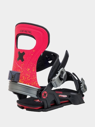 Snowboardovu00e9 viazanie Bent Metal Transfer (red)