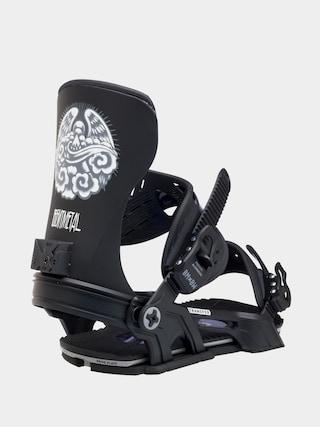 Snowboardovu00e9 viazanie Bent Metal Transfer (black)