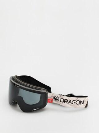Snowboardovu00e9 okuliare Dragon PXV (686 camo/ll dark smoke/ll rose)