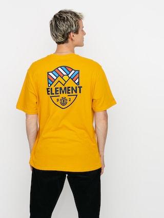 Tričko Element Beaming (old gold)