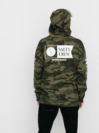 Mikina s kapucňou Salty Crew Alpha HD (camo)