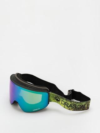Snowboardovu00e9 okuliare Dragon PXV (terra firma/ll green ion/ll amber)