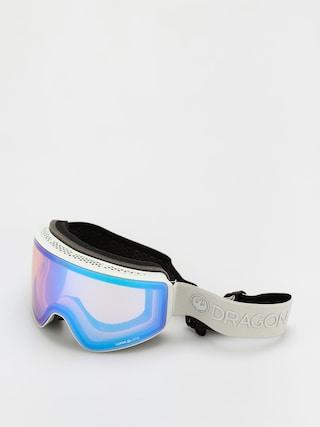 Snowboardovu00e9 okuliare Dragon PXV (salt/ll flash blue/ll dark smoke)