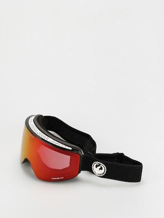 Snowboardovu00e9 okuliare Dragon PXV (split/ll red ion/ll light rose)