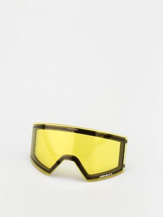 Nu00e1hradnu00e9 sklu00e1 k okuliarom Dragon RVX (lumalens yellow)