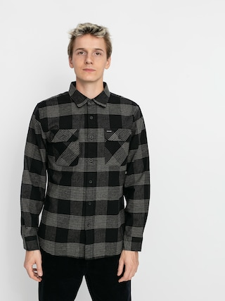 Kou0161eu013ea Brixton Bowery Flannel Ls (black/steel)