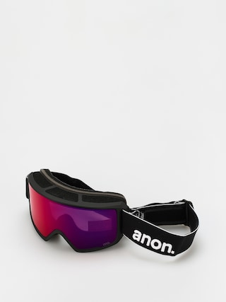Snowboardovu00e9 okuliare Anon M3 (black/perceive sunny red)