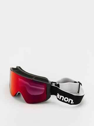 Snowboardovu00e9 okuliare Anon Sync (black/perceive sunny red)